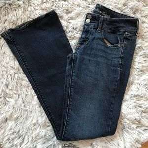 {3/$25} American Eagle size 2 artist style jeans